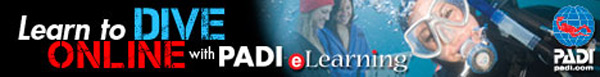 padi elearning courses banner