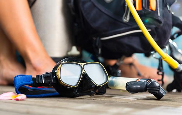 Scuba Diving Equipment Hire