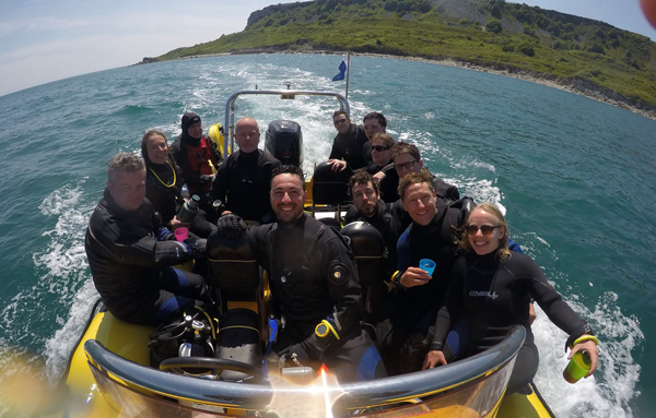 diving in portland
