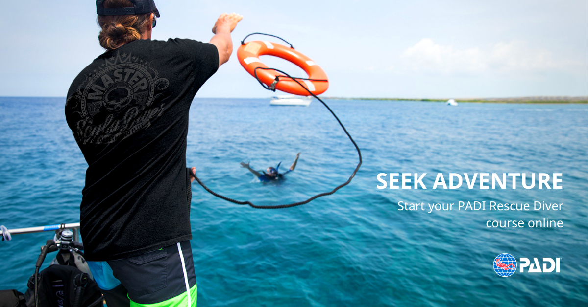 Rescue Diver eLearning banner